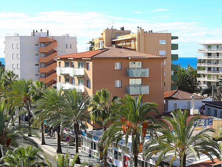 Апартаменты Terecel Salou с балконом и для сёрфинга
