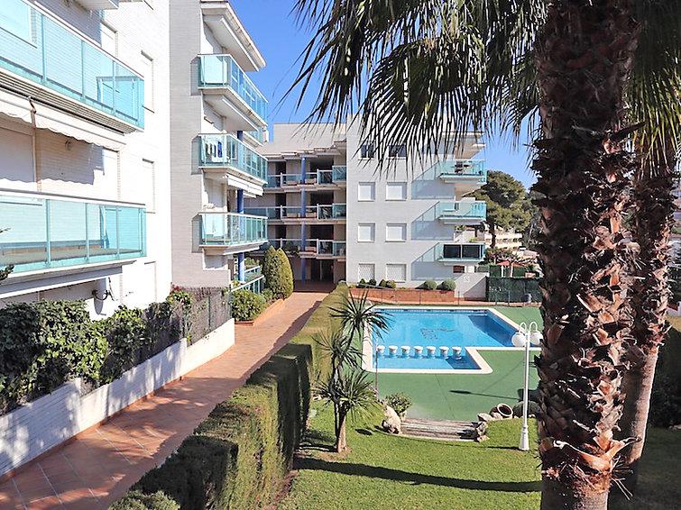 Апартаменты La Caleta Cap Salou с ванной и садом