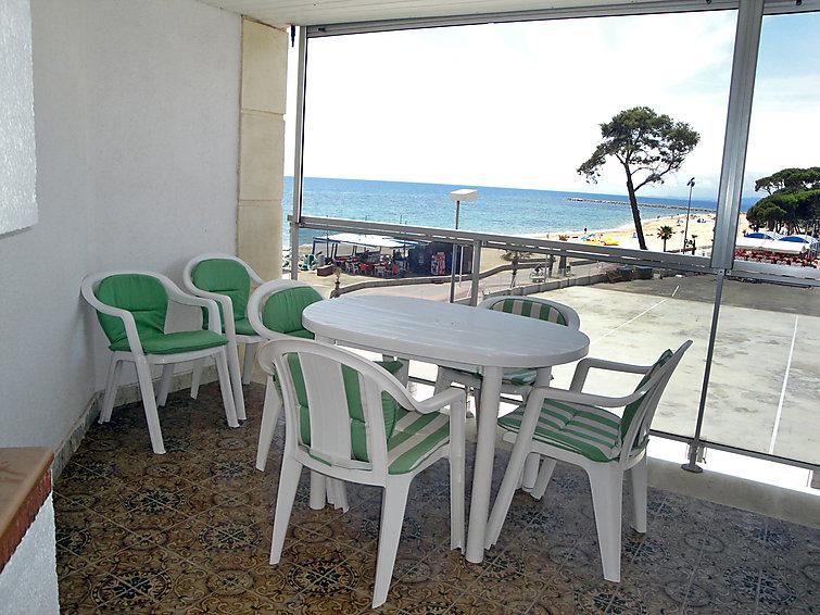 Ferielejlighed Esquirol Vilafortuny med balkon og tv