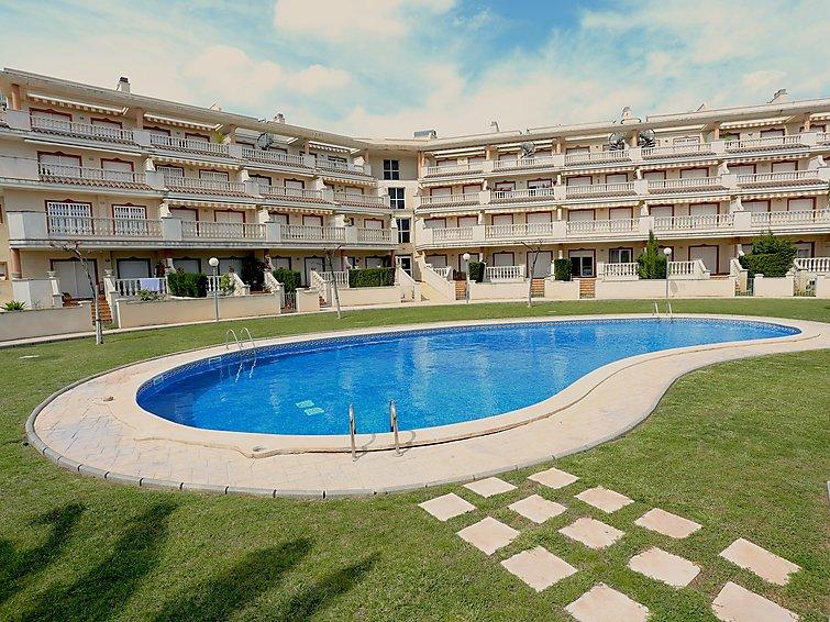 Appartement Bellavista (4p) met zwembad aan de Costa Dorada in Spanje (I-744)
