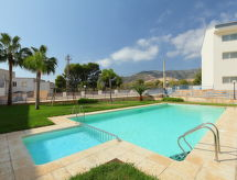Residencia Alcanar C with parking and washingmachine
