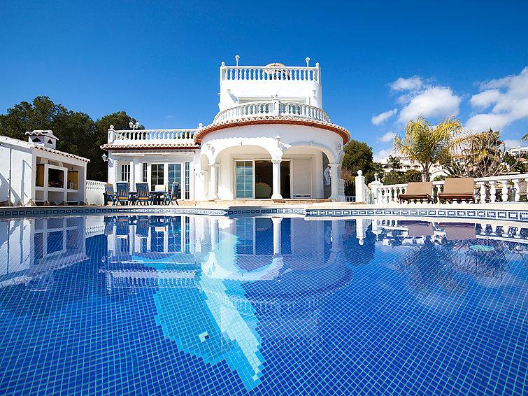 Maison de vacances sushil calpe calp espagne - Maison a louer vacances avec piscine ...