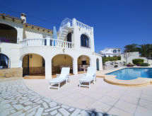 Calpe/Calp - Vacation House Villa Colibri