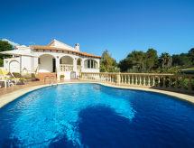 Moraira - Semesterhus Casa vista al Golf