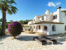 Moraira - Vakantiehuis Casa Papallona