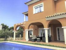 Mediterranean Villa med dvd-afspiller og ovn