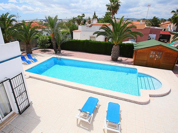Superb Ferienhaus Bermon (6p) Mit Privates Schwimmbad In Torrevieja Spanien (I 610)
