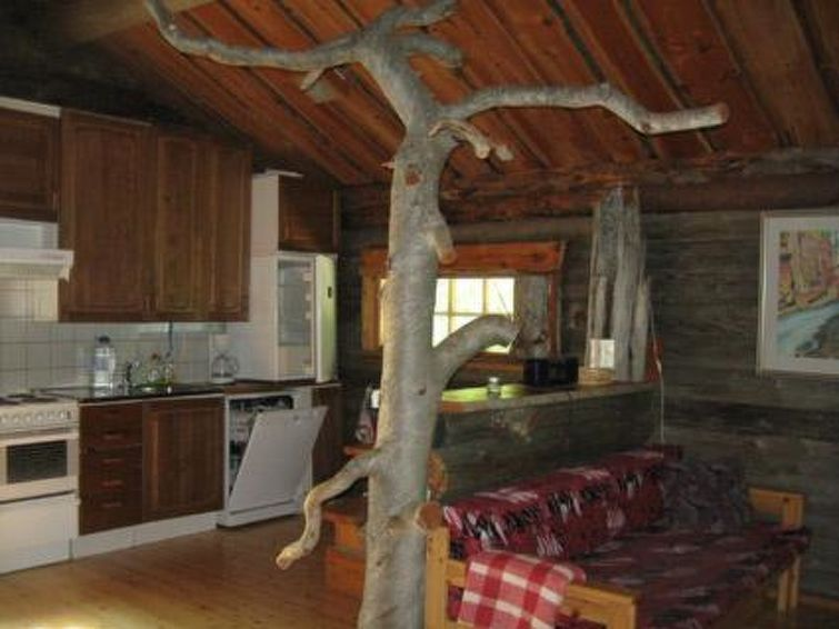 Ferie hjem Äystönmaja med tv og ovn