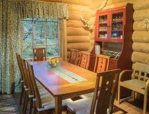 Kilpis-arkki mit Ofen und erlaubnis für Haustiere