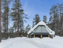 Arctic light hut