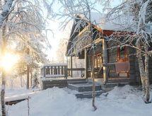Kittilä - Dom wakacyjny Puljuvaaran majat/hilla