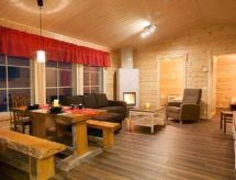 Levin revontulitaivas 2 Sauna ile ve dağ yürüyüşü için