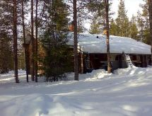 Ylläsjärvi - Holiday House Tunturinäätä