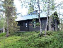 Ylläsjärvi - Ferienhaus Jyppyrä