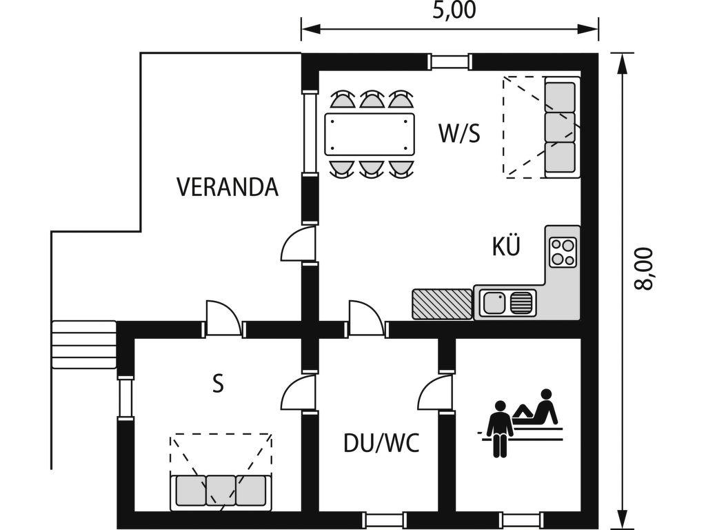 Maison de vacances Grönlund (FIK068) (114638), Kiihtelysvaara, , Est de la Finlande, Finlande, image 17