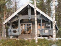 Kitee - Maison de vacances Kesälahti, cabin 1 wolf