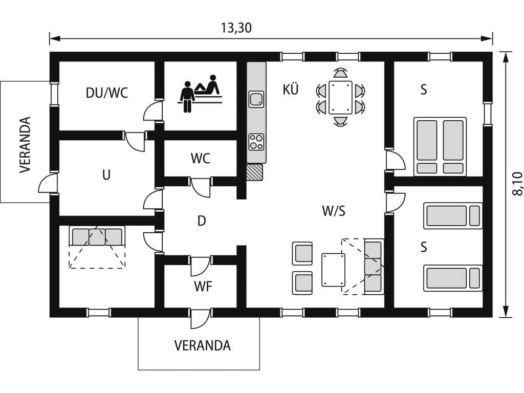 Maison de vacances Argillander (FIJ144) (114953), Leppävirta, , Est de la Finlande, Finlande, image 21