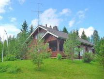Nilsiä - Holiday House Ruiskaunokki, jokikummun maatilamatkailu