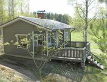 Rautalampi - Maison de vacances Inkan tupa