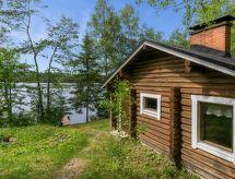 Kerimäki - Maison de vacances Kaakkuri, vetonaulan lomamökit