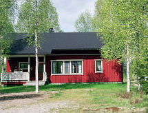 Hyrynsalmi - Ferienhaus Mustikkainen