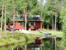 Taivalkoski - Lomahuoneisto Ferienhaus mit Sauna (FIL151)