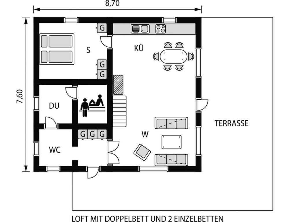 Maison de vacances Auringonnousu (FIL152) (1560307), Taivalkoski, , Centre de la Finlande - Oulu, Finlande, image 24