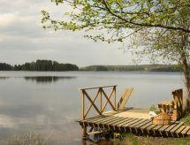 Asikkala - Casa de vacaciones Rinnekämppä, pätiälän kartanon loma-asun