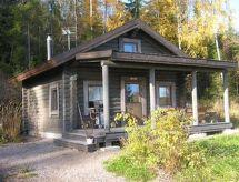 Hämeenlinna - Ferienhaus Ukko, leppäniemen hirsihuvilat