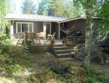 Hartola - Casa de vacaciones Koivuniemi, haaviston lomamökit
