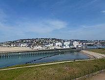 Francie, Normandie, Deauville-Trouville