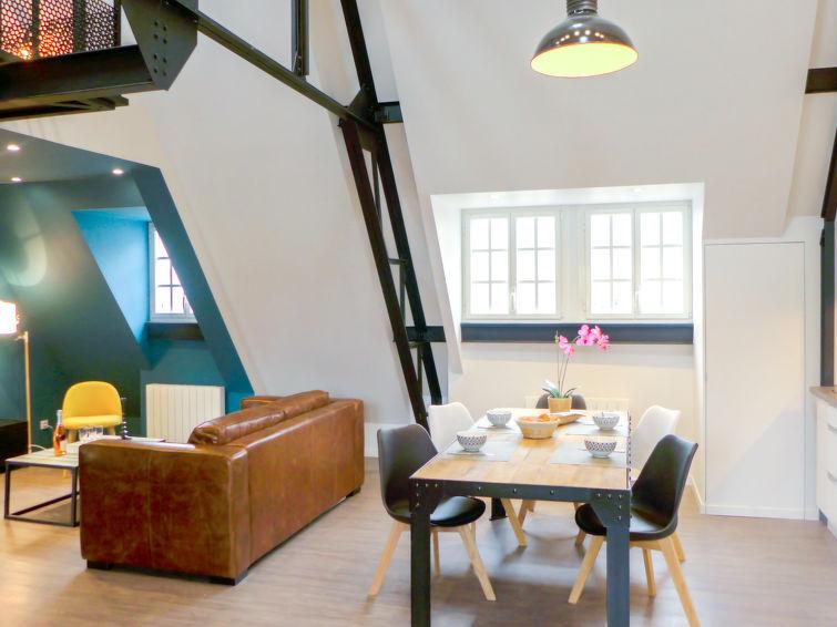 Grand Appartement Loft Annadréas, Saint Malo, Eté
