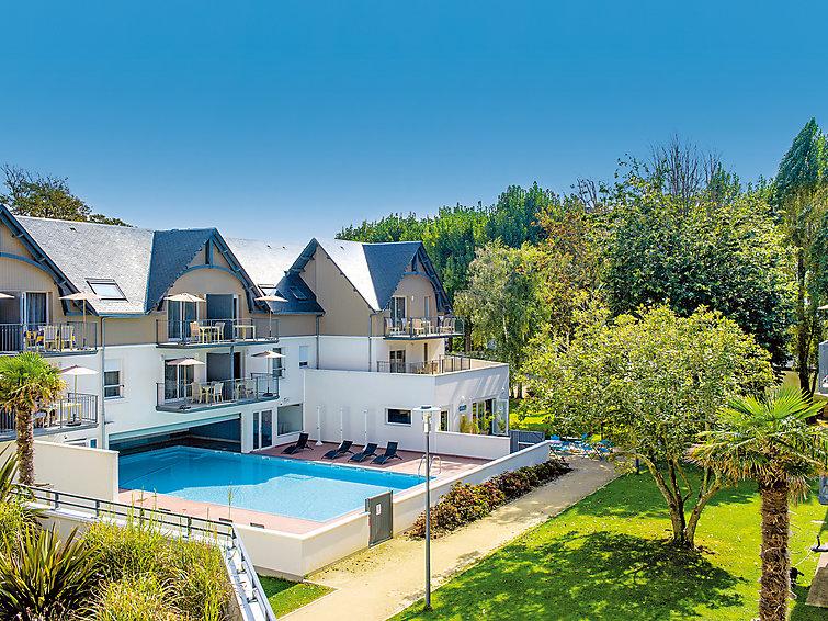 Appartamento di vacanza Les Jardins d'Arvor con reception und parcheggio
