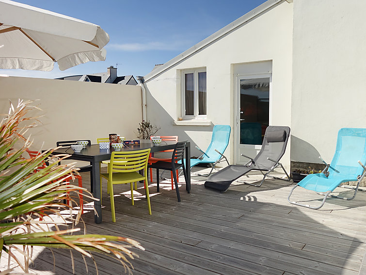 Vakantiehuisje: D Sables Blancs