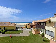 La Dune balkonlu ve Golf için