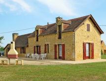 Saint Amand-de-Coly - Casa Ferienhaus mit Pool (AMA204)