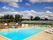 Hameaux de Miel mit Dusche und warmem Pool
