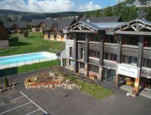 Le Bois de la Reine med mikrobølgeovn og tæt på skiområdet
