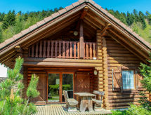 Le Ranska cercana zona de esquí y con lavavajillas