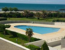 Cap d'Agde - Appartement RIVAGES DE ROCHELONGUE FRONT DE MER