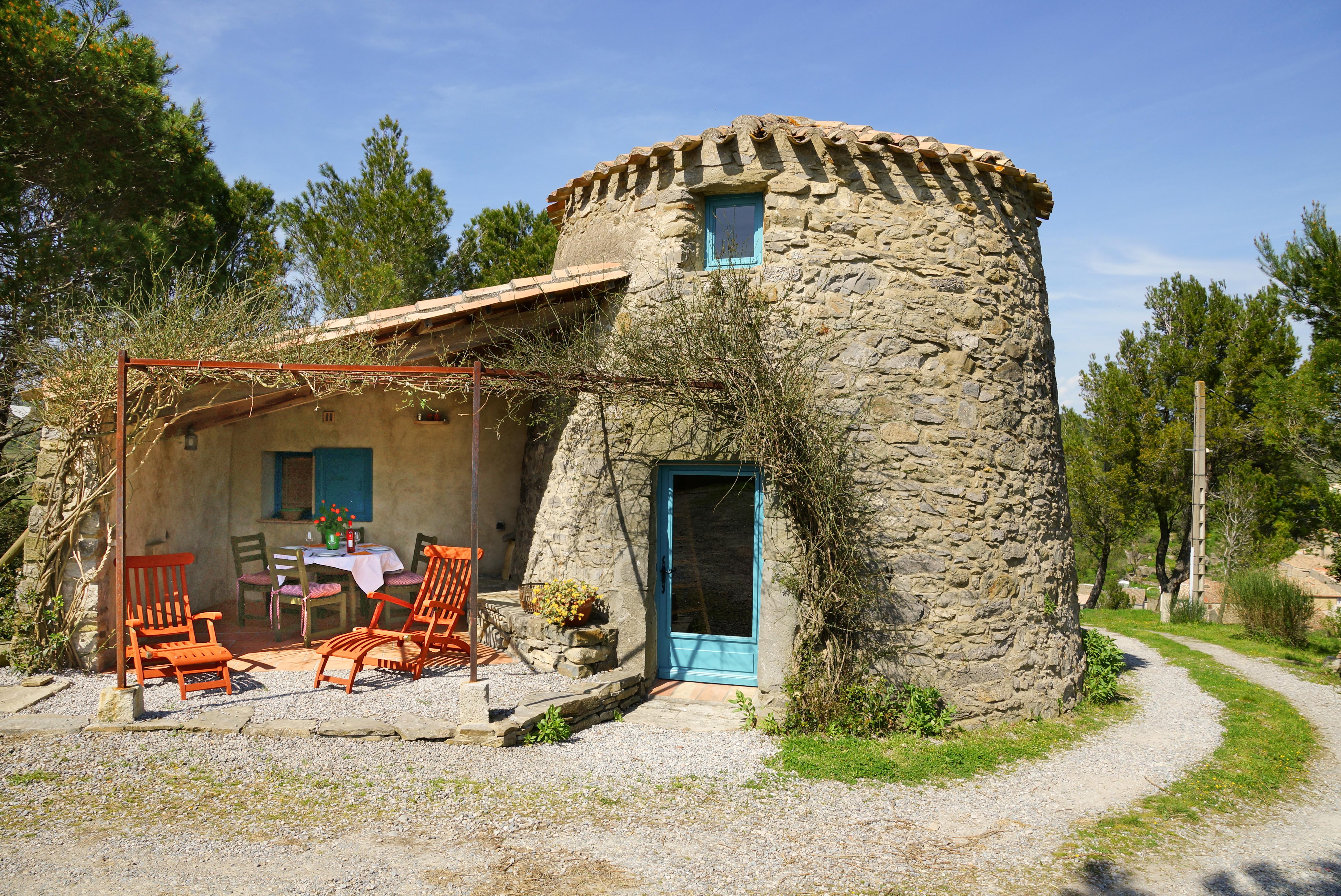 Wunderschön Außergewöhnliche Ferienhäuser Beste Wahl Moulin De Bissat, Lagrasse, Sommer