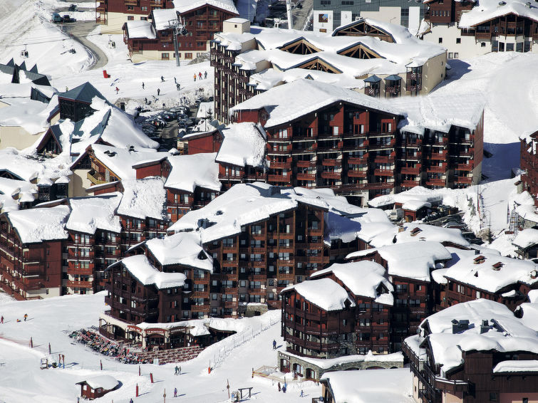 Le Cheval Blanc (VTH201) Apartment in Val Thorens