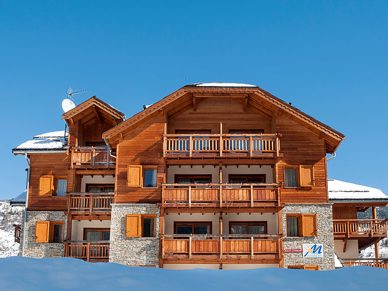 apartment r sidence le chalet de l 39 eterlou serre chevalier j2ski. Black Bedroom Furniture Sets. Home Design Ideas