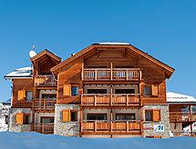 Le Chalet L'Eterlou snowboardozáshoz és erkéllyel