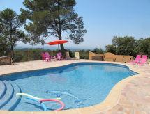 Entrecasteaux - Ferienwohnung Landgut mit Pool (ENT145)