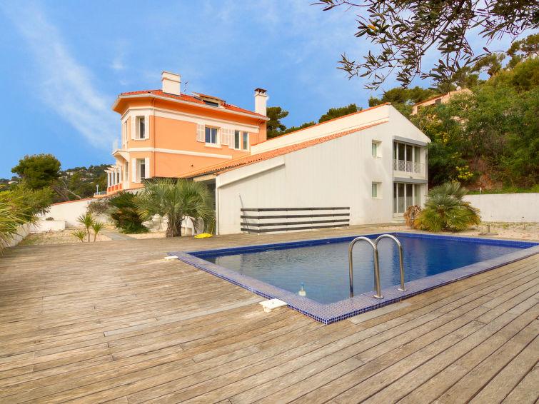 Vrijstaande moderne villa (10p) Les Cystes 1 met sauna en prive zwembad in Zuid-Frankrijk (I-803)