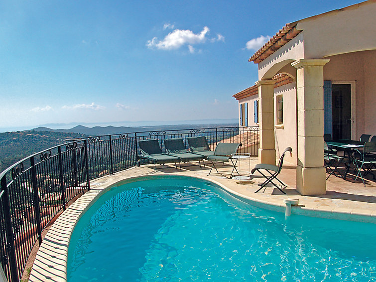 Beautiful villa (10p) Villas Provencales with beautiful view and private pool (I-802)
