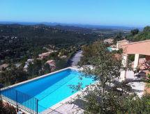 Villas Provencales con piscina y tv