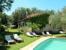 Forcalqueiret - Vakantiehuis Ferienhaus mit Pool (FOC170)