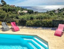 Les Issambres - Vakantiehuis Villa Serpentines
